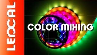Смешение цветов светодиодной ленты LED Strip RGB5050(Смешение цветов светодиодной ленты LED Strip RGB5050. Конструируя различные световые подсветки из светодиодной..., 2013-12-21T21:17:20.000Z)