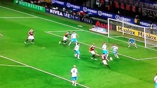 milan catania 4-2 gol flamini pellegatti