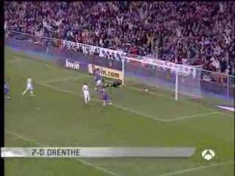 Real Madrid vs Valladolid (7-1)