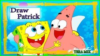 как нарисовать патрика how to draw Patrick(как нарисовать патрика, рисуем патрика, патрик и спанч боб, патрик и губка боб друзья, губка боб и его друзья,..., 2015-09-24T10:08:40.000Z)