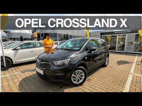 35.500 km: OPEL Crossland X 1.2 Puretech 110 CP 205 Nm - használt autó teszt (2018)