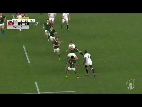 Kolbe's Amazing Try In Rugby World Cup Final