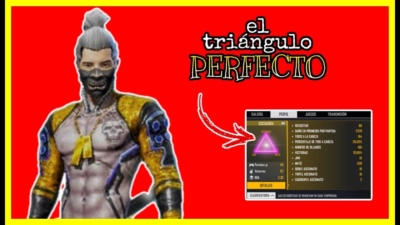 Como hacer el triángulo perfecto !!! MODO PRO