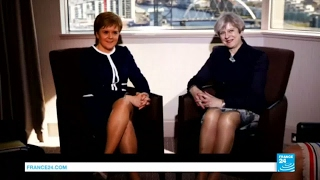 Scottish Independence: May and Sturgeon meet