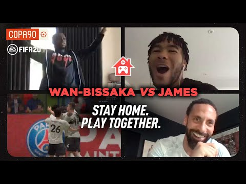 GOLDEN GOAL! Wan-Bissaka vs Reece James | Stay Home. Play Together - With Rio Ferdinand