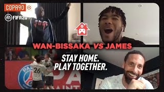 GOLDEN GOAL - Wan-Bissaka vs Reece James   Stay Home. Play Together - With Rio Ferdinand