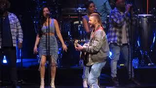 Justin Timberlake - Say Something - Man of the Woods Tour - Boston 4/5/18 - FULL