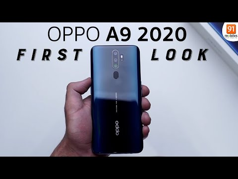 oppo-a9-2020:-unboxing-|-hands-on-|-price-rs-16,990-hindi-हिन्दी