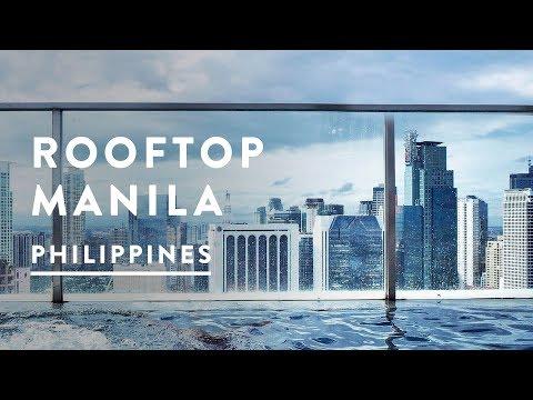 MANILA SKYLINE VIEWS  | Makati, Manila, Philippines | Travel Vlog 027, 2017