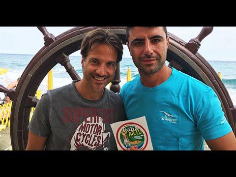 ITALIA DI ARTU 2016 - I Bagni la Scogliera ad Alassio - YouTube