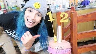 hice 21 tortas por mis 21 años