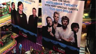 Sailing the Seas with Matchbox Twenty!