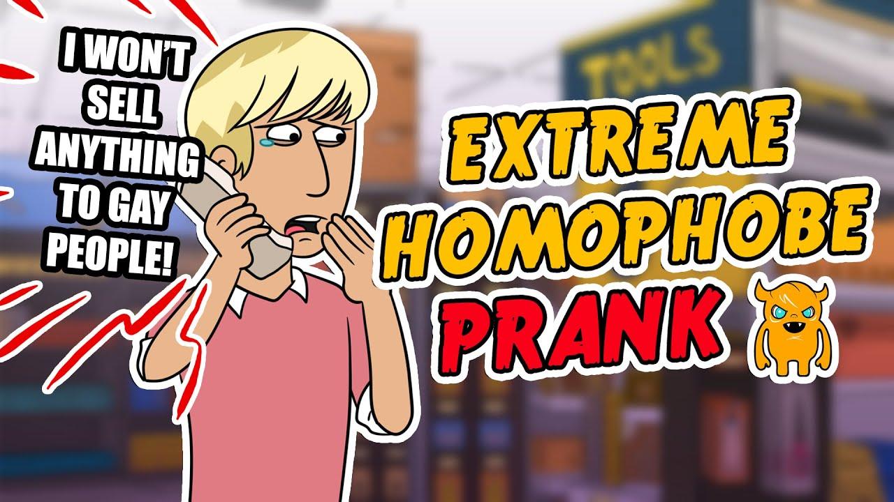 Gay Guy Vs Extreme Homophobe - Youtube-1278