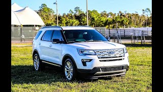 The 2018 Ford Explorer XLT. Car Reviews Unplugged