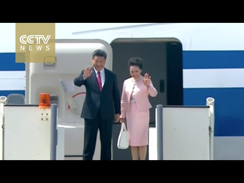 President Xi Jinping arrives in Serbian capital Belgrade