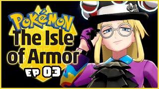 Pokemon Isle of Armor DLC Part 3 SHINY Gigantamax Cinderace Pokemon Shield Gameplay Walkthrough