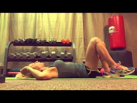 5 minute Ab workout-beginner