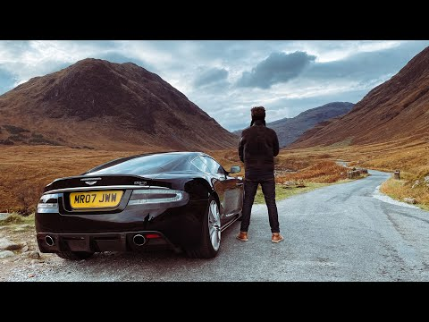 Aston Martin DBS First Drive To SKYFALL!