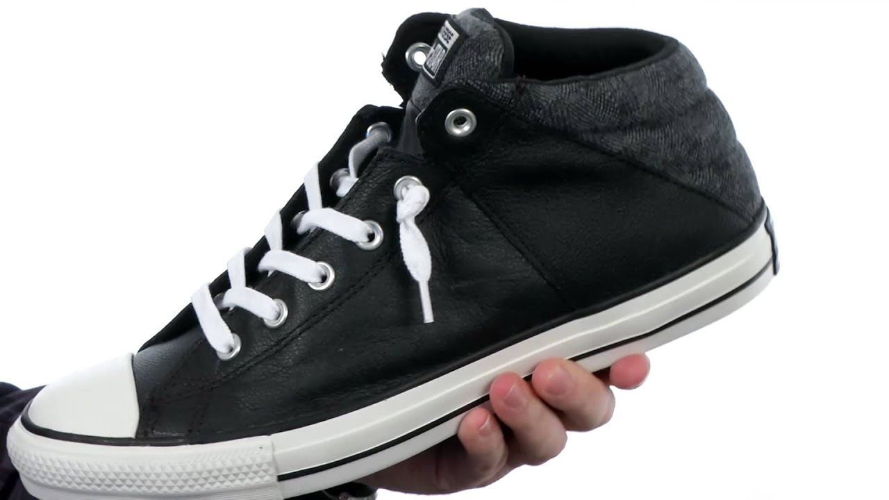 fd10c2abef83 Converse Chuck Taylor® All Star® Axel Leather Herringbone Mid SKU 8389553