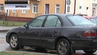 Первая 'пьяная' конфискация авто в Витебске