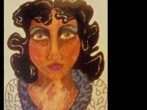 "African American Folk Art ""I'm Millie!"" by Stacey Torres, Artist"