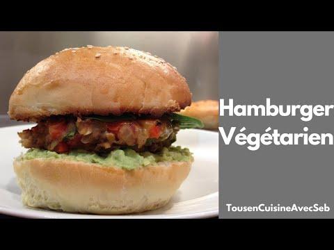 Hamburger végétarien (tousencuisineavecseb)