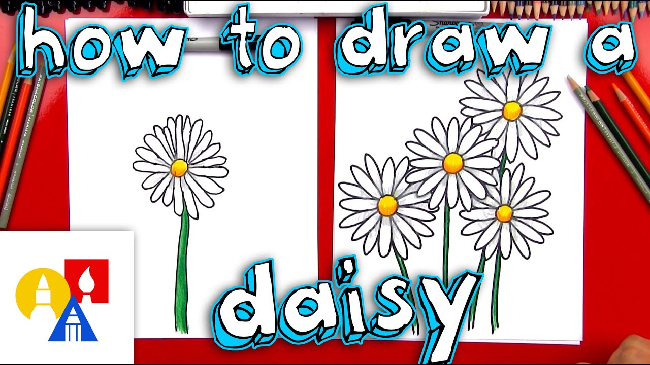 How to draw a daisy flower youtube how to draw a daisy flower izmirmasajfo