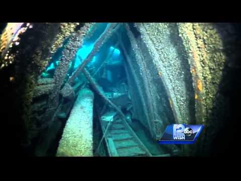 Lake Michigan home to hundreds of shipwrecks