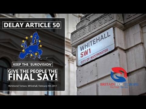 'SMR' - 'Give The People The Final Say!' (Whitehall Rally)