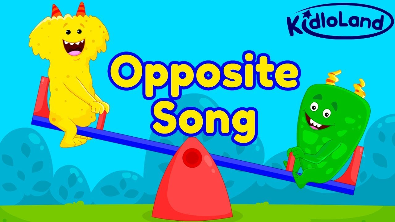 opposite songs for preschool the opposites song for preschool kids early english