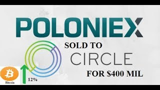 Poloniex Exchange sold to Circle for $400 mil || Goldman Sachs || Market boost || by Crypto Phoenix