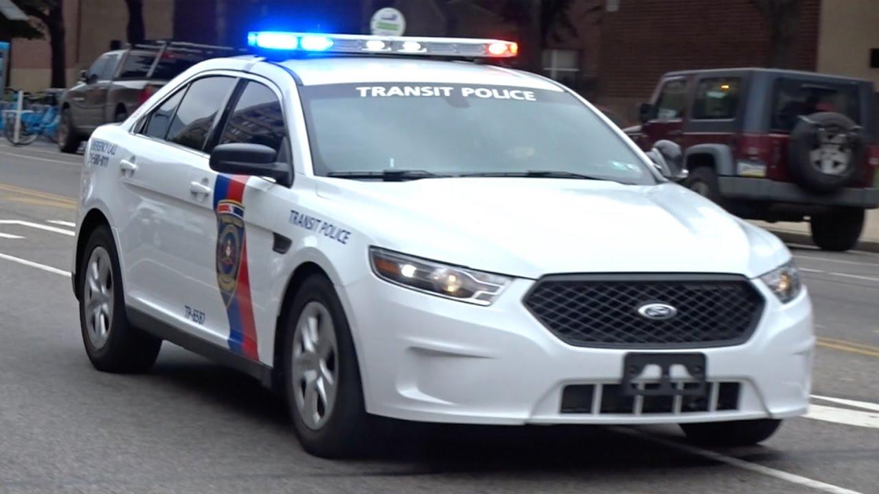 Ford Taurus Police Interceptor >> SEPTA Transit Police TP-6587 Responding - YouTube