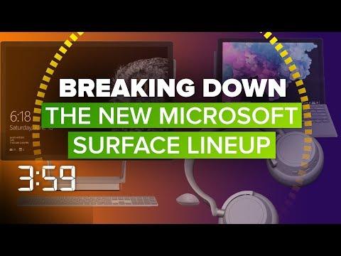 We break down Microsoft\'s new Surface laptop, headphone (The 3:59, Ep. 468)