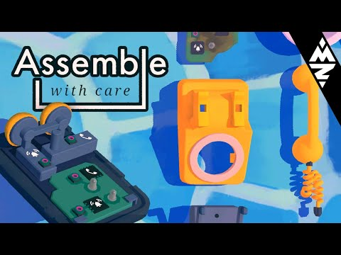 I WASN'T READY FOR THIS! - Assemble With Care Gameplay |