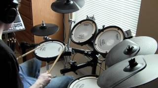 Rush - 2112 Overture/The Temples of Syrinx - Drum Cover (Tony Parsons)