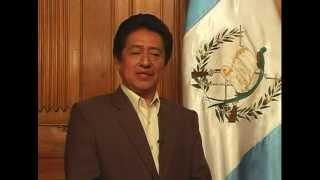 Mensaje de fin de año, Ministro de Cultura y Deportes, Carlos Batzin