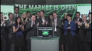 Euro Pacific Canada opens Toronto Stock Exchange, February 24, 2012