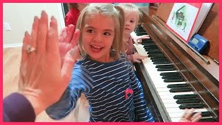 A PIANO PRODIGY IN THE MAKING!