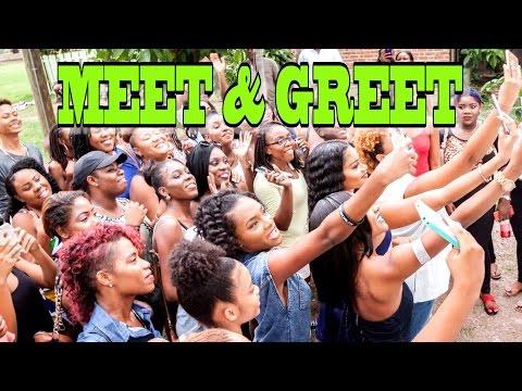 Vlog #116   MEET & GREET :)   Kingston, Jamaica