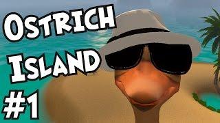 Ostrich Island - Head In The Sand Simulator! - Ep#1