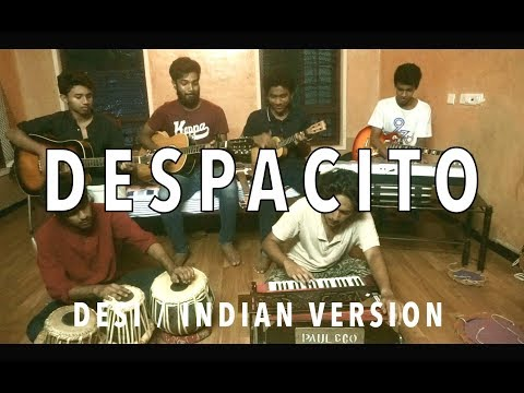Despacito - Luis Fonsi ft. Daddy Yankee (Cover) | Desi version - Indian cover | V Minor