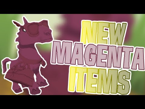 This Person Got These New Magenta Items For Free | Animal Jam