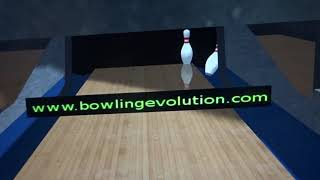 A WTF strike I made in Bowling Evolution