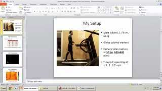 2-D Human Gait Analysis using Joint Tracking_Part2