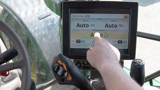 Automatyczne zwiększanie prędkości silnika przy włączaniu WOM CommandPRO | John Deere