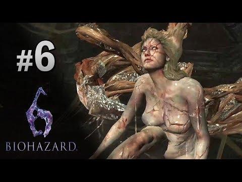 #6 美女脫變成怪物 | Biohazard 6 生化危機 6 中文版