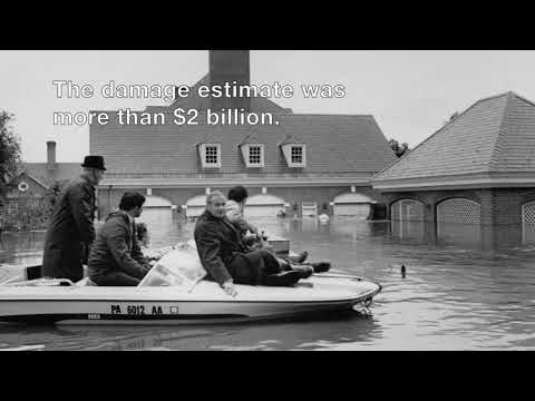 Tropical Storm Agnes 1972: '650 billion gallons of water gushed through Harrisburg.'