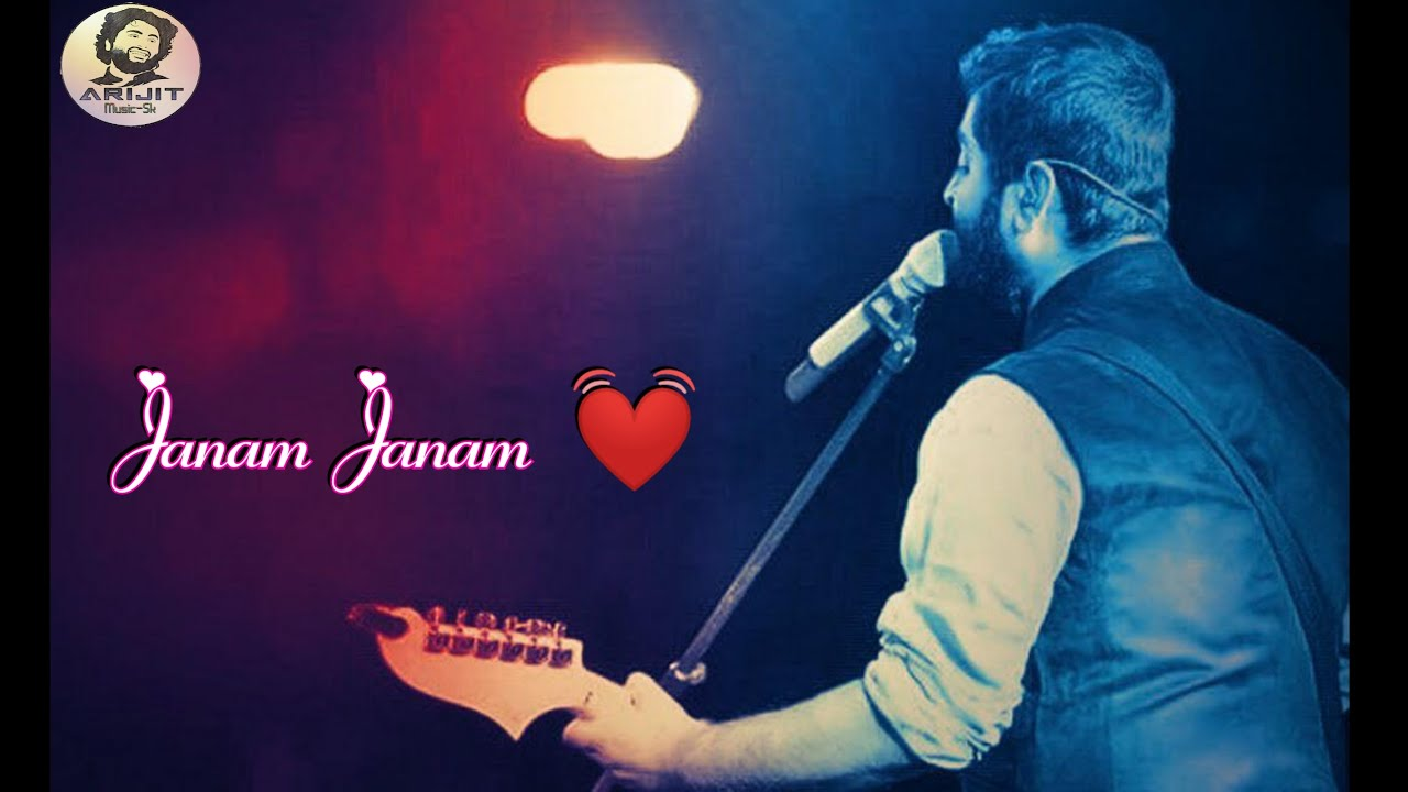 Arijit Singh | Janam Janam | Live | Full HD Video