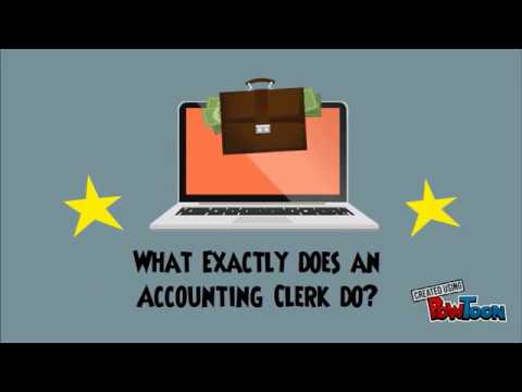 What Is An Accounting Clerk?