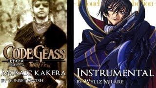 Code Geass ending 2 - Mosaic kakera (guitar Instrumental)